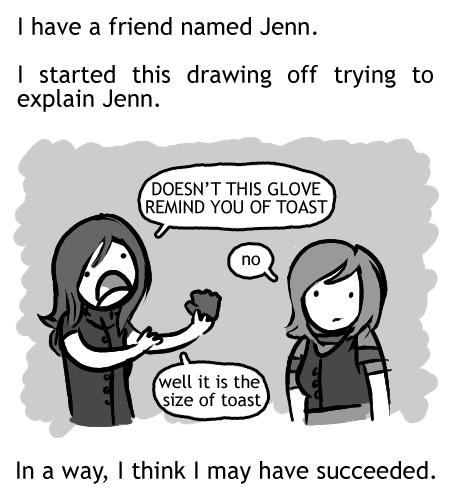 Elissa Explains It All: Jenn