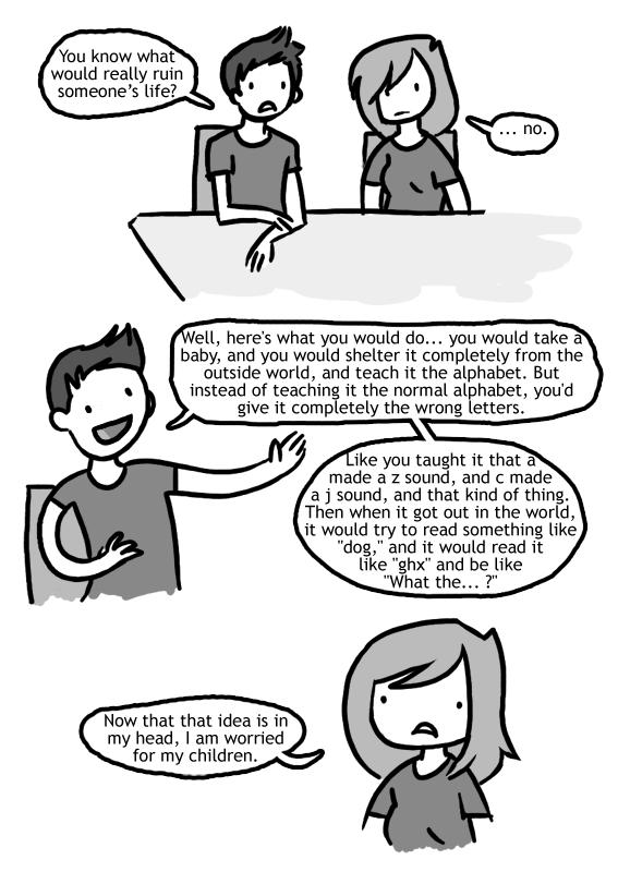 On Ruining Someone's Life
